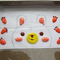 萌兔子彩绘蛋糕卷#特百惠龙卷风佳作#的做法图解12