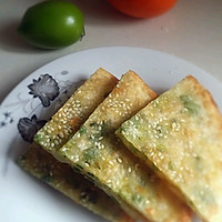 饺子皮椒盐煎饼的做法图解8
