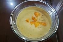 芒果椰汁西米捞的做法