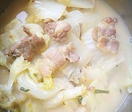 猪肉炖白菜的做法
