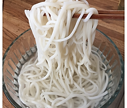 自制米粉的做法