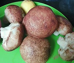 蒸蘑菇包子的做法