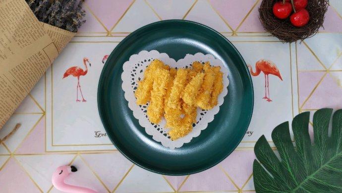 无油烤杏鲍菇(减脂菜单)