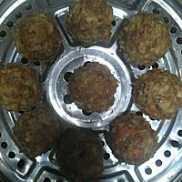 肉酿鹌鹑蛋和珍珠丸子的做法图解6