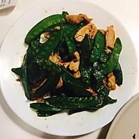 荷兰豆炒肉#自选菜品#