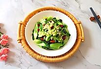 蒜蓉小油菜#餐桌上的春日限定#的做法