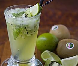 Mojito kiwi 饮料的做法