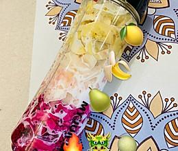 夏日特饮❤️简易版水果奶昔的做法