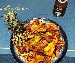 舒大厨的101道美味之菠萝鸭的做法