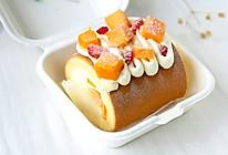 便当水果蛋糕卷的做法