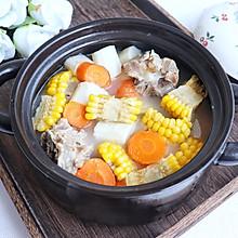 玉米山药筒骨汤