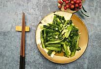 蒜泥油麦菜、蒜泥笋尖的做法