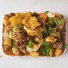 土豆烧鸡(黄焖鸡版本)