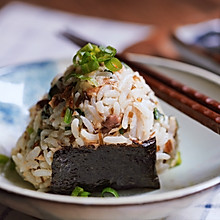 #助力高考营养餐#照烧青花鱼饭团