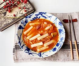 #憋在家里吃什么#韩式辣炒年糕的做法