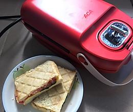 #今天吃什么#标准三明治的做法