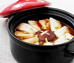 韩式泡菜豆腐煲的做法