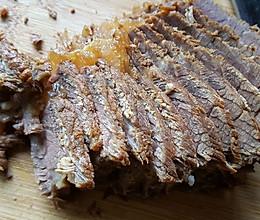 五香干切卤牛肉的做法