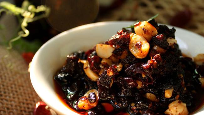 香辣豆豉牛肉酱的做法