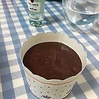一人份的马芬杯熔岩巧克力(适合单身dog哈哈)的做法图解3