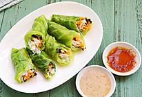 丘比沙拉汁ー如意蔬菜卷的做法