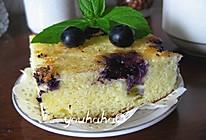 蓝莓酸奶蛋糕的做法