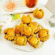 广式紫薯月饼