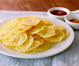 #我们约饭吧#自制薯片的做法