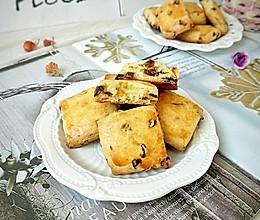 葡萄干方块酥的做法