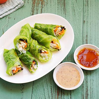 丘比沙拉汁ー如意蔬菜卷