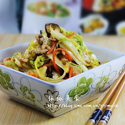 三丝炒大白菜