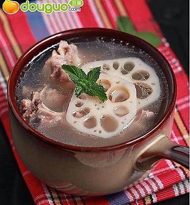龙骨莲藕汤