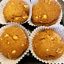 #中秋团圆食味#绝对零失败的椰香花生酥曲奇饼干