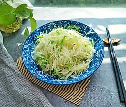 青辣椒炒土豆丝的做法