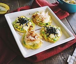 北极虾卷心菜奶酪蛋烧 | 元气早餐的做法
