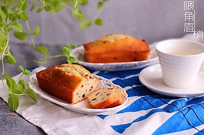 藜麦蔓越莓磅蛋糕#美的烤箱食谱#