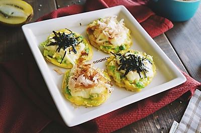 北极虾卷心菜奶酪蛋烧 | 元气早餐