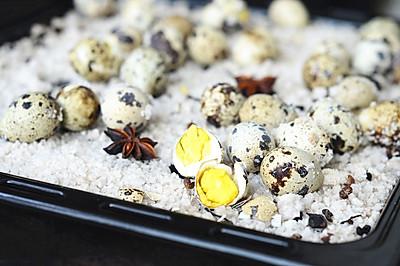 盐焗鹌鹑蛋