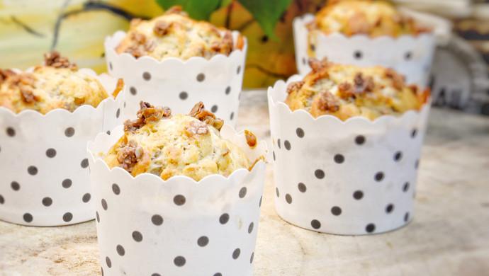 燕麦香蕉麦芬——早餐健康能量100分