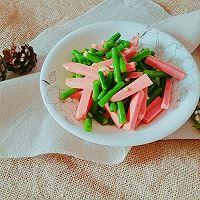 夏日清凉快手菜~凉拌豇豆的做法图解5