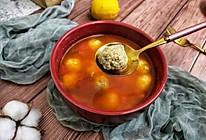 #相聚组个局#番茄豆腐肉丸汤的做法