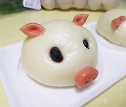 红薯猪猪包的做法