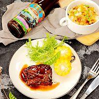 蚝油煎小牛肉#厨此之外,锦享美味#的做法图解7
