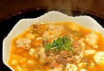 番茄牛肉豆腐羹的做法