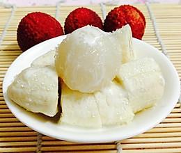 减肥食谱--水果沙拉(荔枝香蕉沙拉)的做法