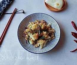 葱椒醋豉油菜花的做法