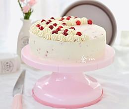 蔓越莓果冻蛋糕的做法
