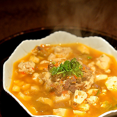 番茄牛肉豆腐羹