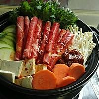 韩式火锅好吃的秘诀——泡菜肥牛锅的做法图解9