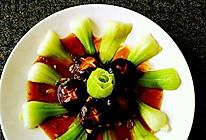 耗油香菇油菜的做法